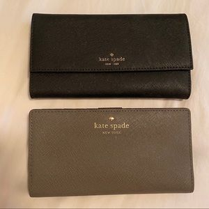 Kate Spade Wallets- Bundle of 2